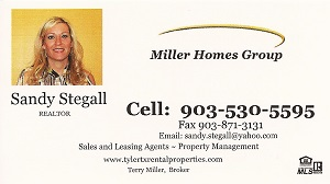 Tyler Tx Rental Properties by Stegall Properties INC.